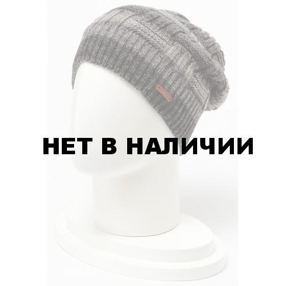 Шапка полушерстяная marhatter MMH 4915/1 антрацит 002.012