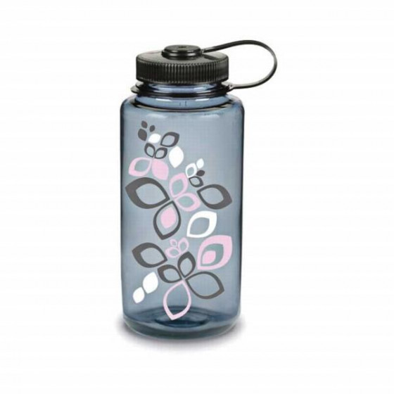 Бутылка Nalgene WM 1 QT GRAY PINK BLOOM