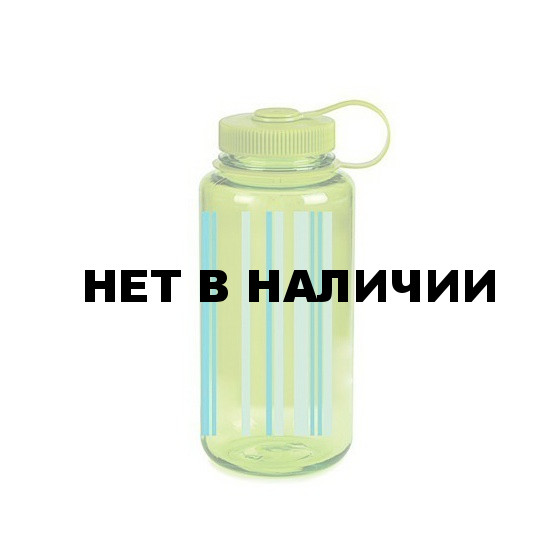 Бутылка Nalgene WM 1 QT SPRING GREEN STRIPES