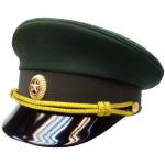 Фуражка МО зеленая нового образца (ткань рип-стоп)