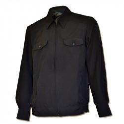 Куртка ПОЛИЦИЯ летняя, ткань габардин иссиня-черный