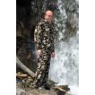 Камуфляжный флисовый костюм Онега км N низ