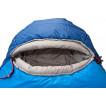 Если Ваш рост до 165 см, Вам нет нужды нести «лишние» 30 см туристического спальника Alexika Mountain Scout 9224.0105