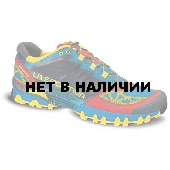 Технические кроссовки для трейлраннинга La Sportiva Bushido Blue / Red