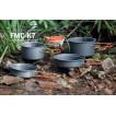 Набор портативной посуды FMC-K7, на 2-3 чел.180х95mm, 170х75mm,