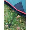 Лёгкая однодуговая двухместная туристическая палатка Alexika Trek 2 зеленый