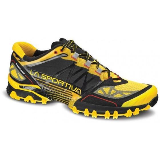 Технические кроссовки для трейлраннинга La Sportiva Bushido Yellow / Black