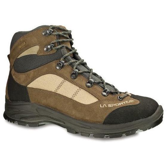 Комфортные легкие ботинки для несложного трекинга La Sportiva Cornon GTX Brown / Beige