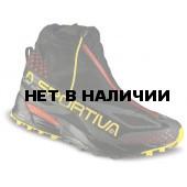 Беговые кроссовки с гамашой La Sportiva Crossover 2.0 GTX Black/Yellow