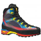 Легкие высокотехнологичные горные ботинки с бесшовной конструкцией Thermo Tech Injection La Sportiva Trango Cube GTX Blue / Red