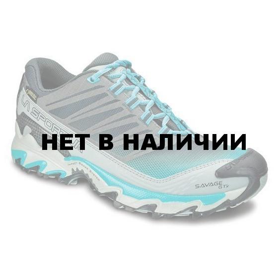 Кроссовки для бега по пересеченной местности с мембраной Gore-Tex La Sportiva Savage GTX Woman Turquoise