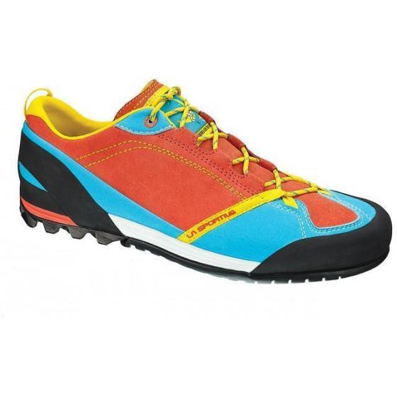 Кроссовки для подходов La Sportiva Mix Woman Coral/Malibu Blue