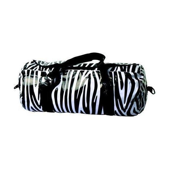 Простой механизм герметизации: скручивание горла с последующей фиксацией фастексом AceCamp Zebra Duffel Dry Bag 40L 2468