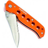 Нож складной с сзазубреным лезвием. 2515