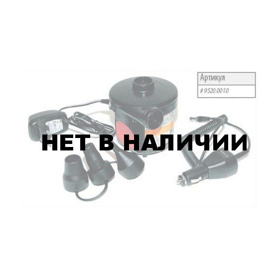 Насос со встроенным аккумулятором при полной зарядке (от сети 8 часов) позволяет надуть 5-6 стандартных ковриков, т Electric Pump HB – 162E+ 9520.0010