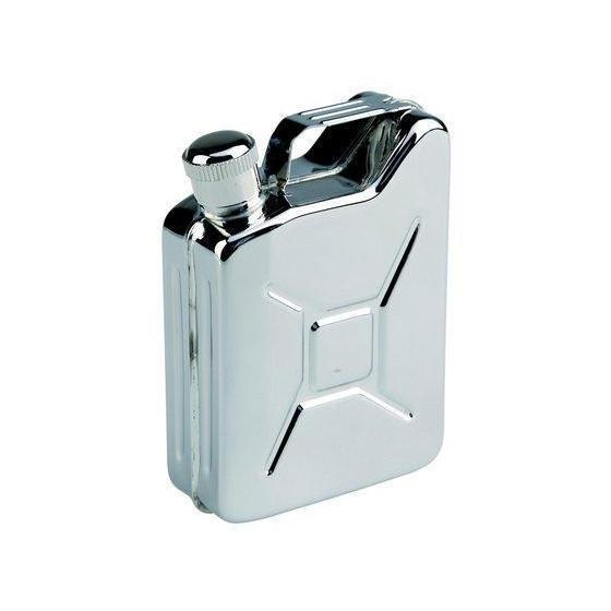 Фляга-канистра, сталь нержавеющая 150 мл AceCamp S/S Flask Gas Can shape 5OZ 1512