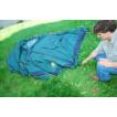 Четырехместная кемпинговая палатка-полубочка с большим тамбуром Alexika Apollo 4 зеленый