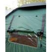 Четырехместная кемпинговая палатка с двумя спальнями и тамбуром посередине Alexika Indiana 4 беж