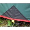 Универсальный тент защищает вас от дождя и солнца Alexika Tarp 4x4 зеленый
