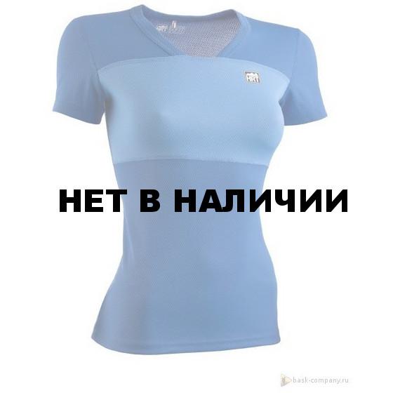 Футболка женская HRT MOTION LADY TEE V2 СИНИЙ/ГОЛУБОЙ L L