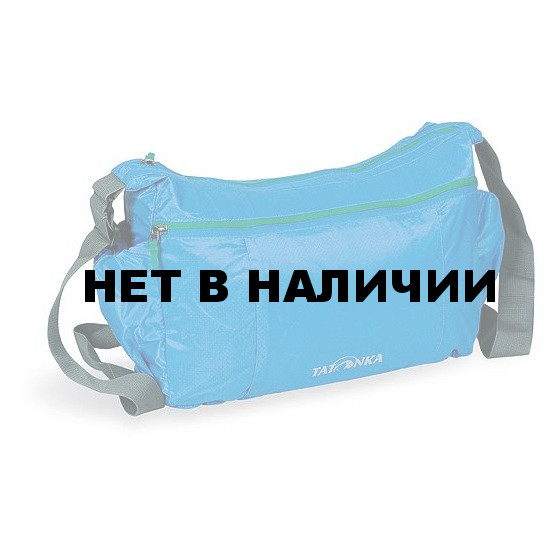 Легкая плечевая сумка на молнии Tatonka Squeezy Bag 2208.194 bright blue