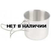 Универсальная кружка из нержавеющей стали со складной ручкой Handle Mug, without Description, 4072