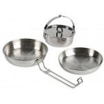 Набор посуды из трех предметов Camp Set Regular, without Description, 4113