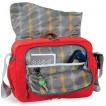 Стильная сумка для учебных принадлежностей Baron red