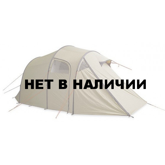 Туннельная палатка для семейного отдыха с просторным спальным отделением и тамбуром в полный рост Family Camp cocoon