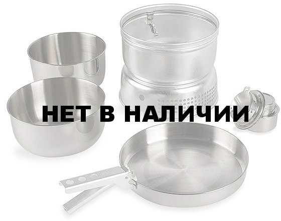 Набор посуды со спиртовой горелкой Multi Set + Alcogol Burner, without Description, 4010