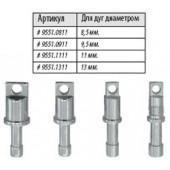 Алюминиевые наконечники под люверсы для алюминиевых дуг Lock Tips ALU 13 9551.1311