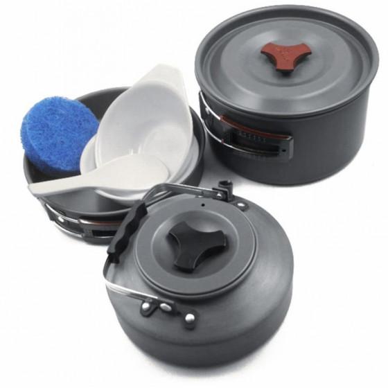 Туристический набор посуды на 2 персоны Fire-Maple FMC-204