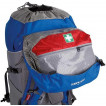 Универсальный трекинговый туристический рюкзак Crest 50 blue