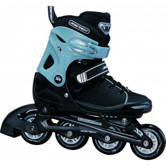 Роликовые коньки JOEREX JX6 (синий/черный)