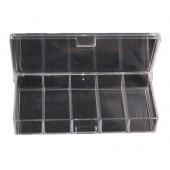 Коробочка СВ-01 прозрачная (5 отд.) (100*50*17мм) 0038301