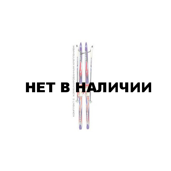Беговые лыжи STC детские (лыжи, крепления комбинированные, палки) 110 см