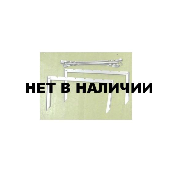 Набор Шашлычок (2 стойки + 6 шампуров)