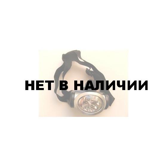 Фонарь светодиодный налобный 6 LEDх0.5 Вт Headlamp
