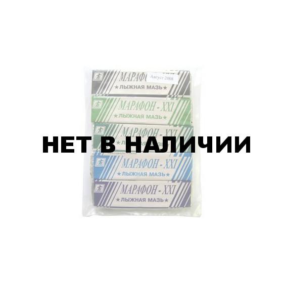 Лыжная мазь Марафон-ХХI (5 температур) (5шт.)