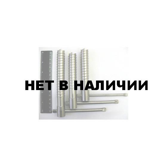Ввертыш (160х2х20 мм, ручка d8, нержавеющ. сталь)