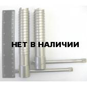 Ввертыш (130х2х25 мм, ручка d8, нержавеющ. сталь)