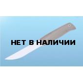 Нож туристический Финский (дерево-орех) (Кизляр)