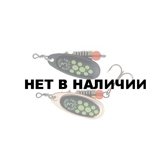 Блесна MEPPS Black Fury CHART CU блистер №4 CCBF30045