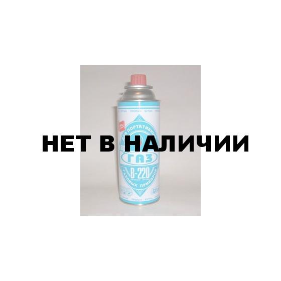 Баллон газовый ЕВРОГАЗ 220 гр.