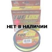 Рыболовная леска плетеная TUF LINE DURA CAST 114м 0,08 (желтая)