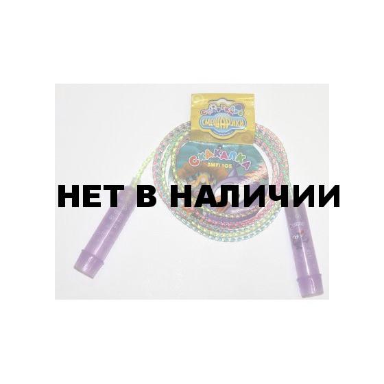 Скакалка Смешарики со шнуром-радугой Совунья SMFI 105