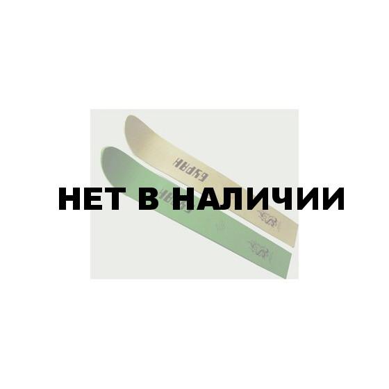 Лыжи Буран 125х16см (дерево)