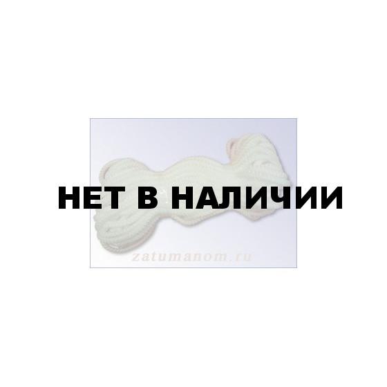 Шнур универсальный с сердечником (полипропилен) 5,0мм (10м)(белый)