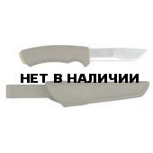 Нож универсальный Mora Bushcraft Forest (лезвие 10,6см. пластик, чехол) (11602)