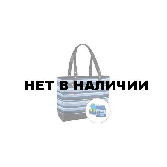 Изотермическая сумка Raya 24 Can tote-blue stripe 421036